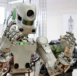 FEDOR (Final Experimental Demonstration Object Research) a humanoid robot created by Russian scientists