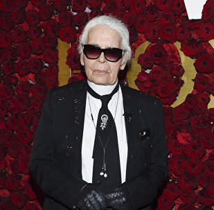 Chanel artistic director and honoree Karl Lagerfeld attends the 2nd Annual WWD Honors hosted by Women's Wear Daily at The Pierre Hotel on Tuesday, Oct. 24, 2017, in New York.