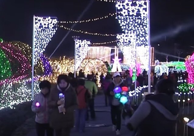Festival of Light in South Korea