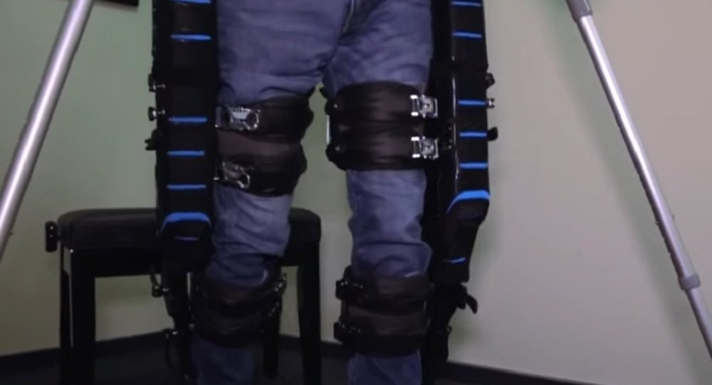 Exoskeleton from the Russian company ExoAtlet
