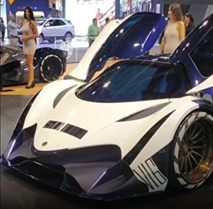 Devel Sixteen Presented at the Auto Show in Dubai