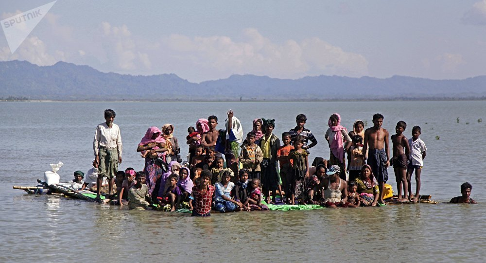 United States sanctions Myanmar general over Rohingya crisis