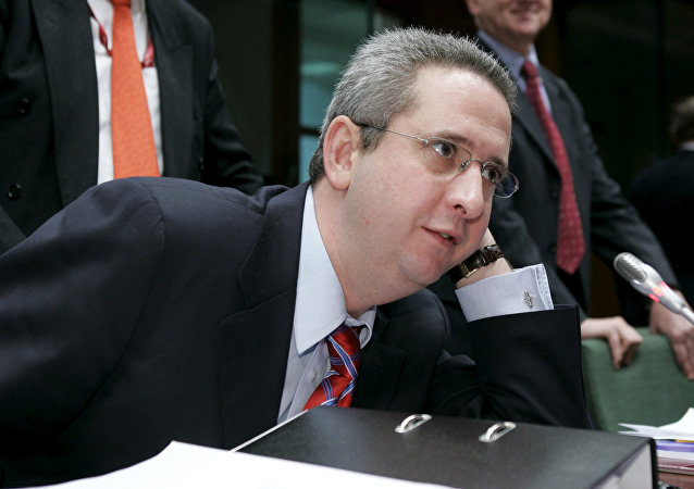 British Minister Ivan Lewis is pictured prior the start of the Budget Council in the EU headquarter 24 November 2005, in Brussels.