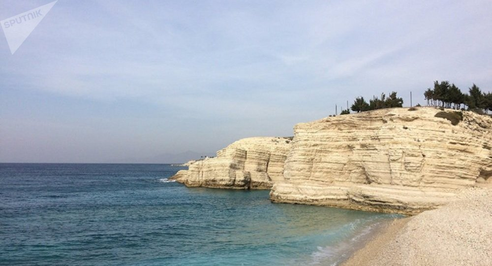 Mediterranean coast on the outskirts of Latakia