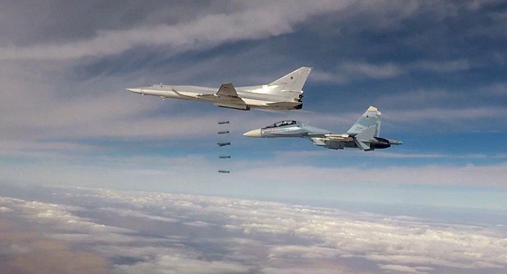 Six Tu-22M3 bombers strike terrorist facilities in Syria