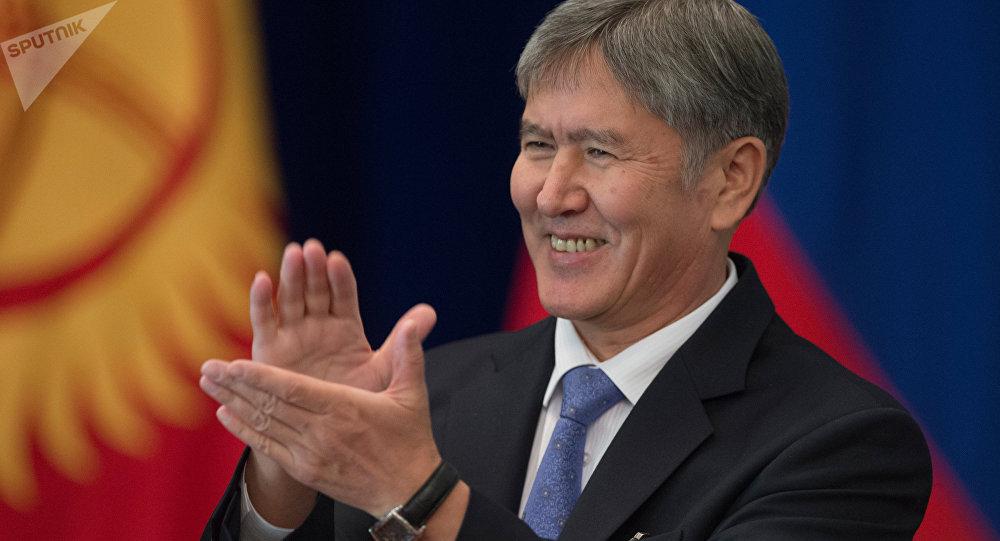 Almazbek Atambayev. File photo