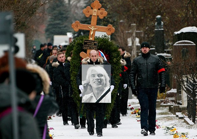 Funeral of Dmitri Hvorostovsky in Moscow