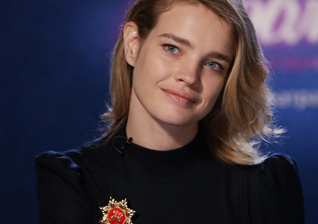 Natalia Vodianova. File photo
