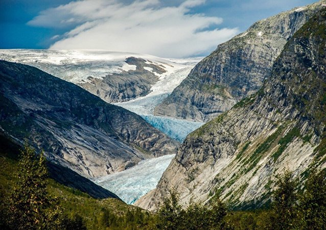Nigardsbreen Glacier in Norway