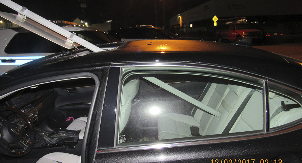 Drunken Driver Didn't Realize She Had Sign Stuck In Sunroof, Police Say