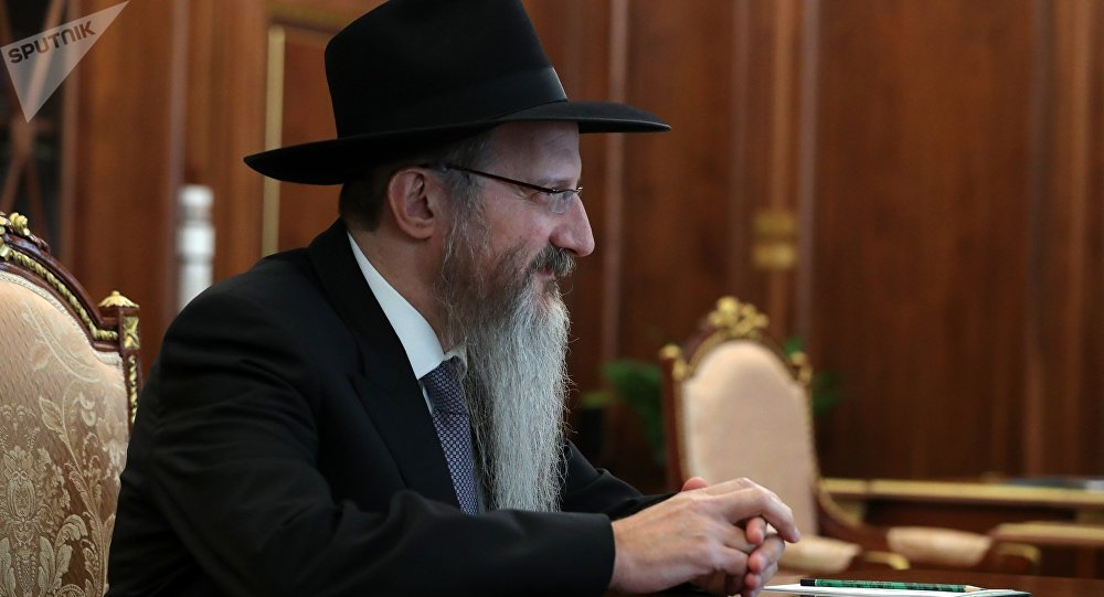 Chief Rabbi of Russia Berl Lazar
