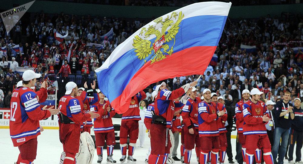 Resultado de imagen para russia hockey team