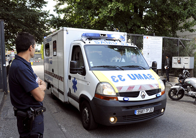 Ambulance in France. (File)