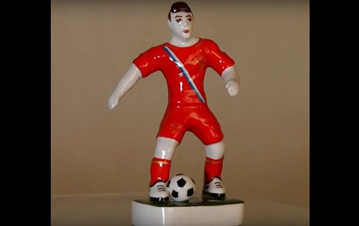 2018 World Cup Players in Porcelain