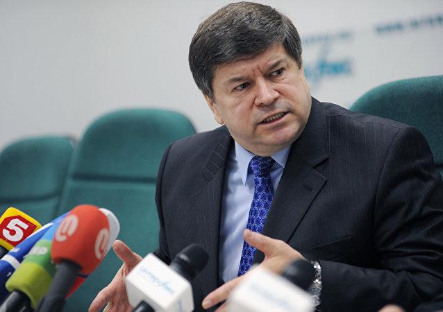 Moldova's Ambassador to Russia Andrei Neguta. (File)