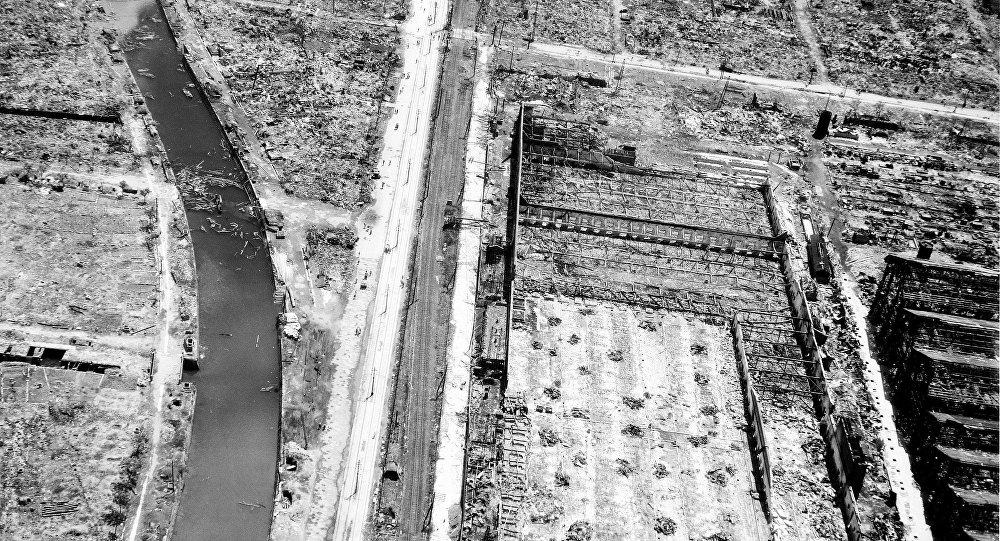 WWII NAGASAKI A BOMB AFTERMATH