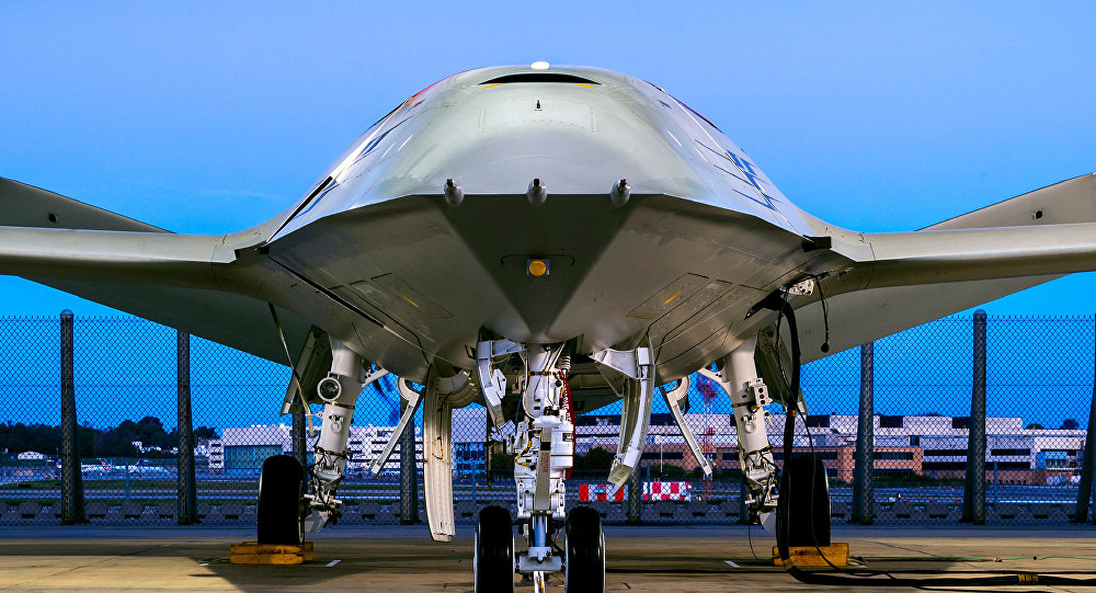Boeing Unveils Refueling Drone for Aircraft