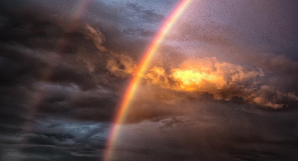 Double Rainbow (image used for illustration purpose)