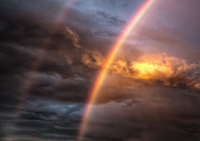 Double Rainbow (image used for illustration purpose)