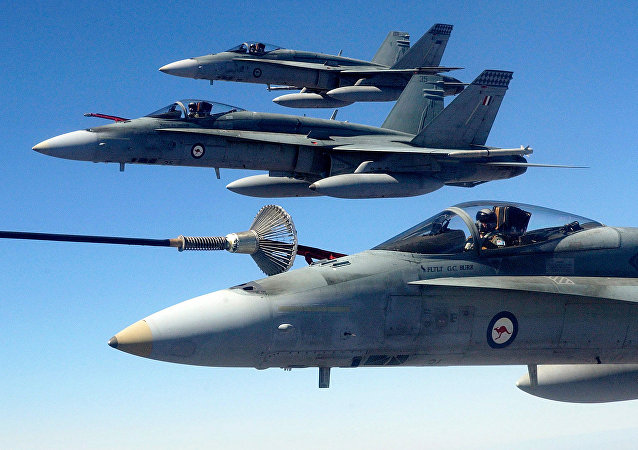 (File) Australian Air Force (RAAF) F/A-18 Hornet fighter jets