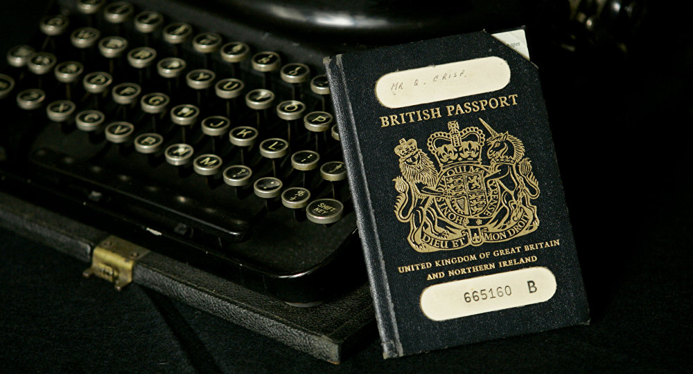 Why is the iconic blue passport so important to Brits?
