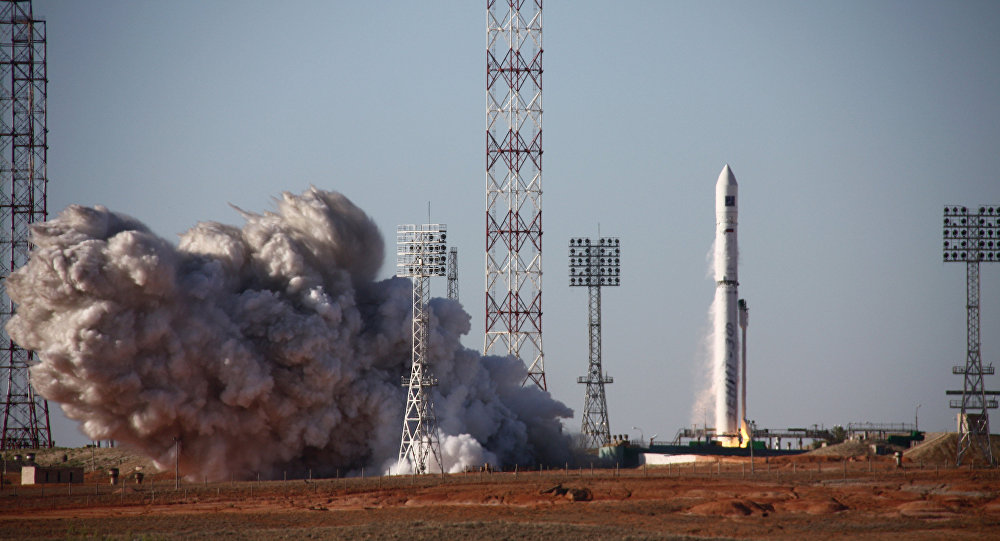 Zenit rocket launches Angola's long-awaited first satellite