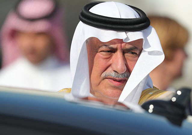 Saudi Arabia's State Minister Ibrahim al-Assaf arrives for the G-20 summit in Hamburg, northern Germany, Thursday, July 6, 2017. The leaders of the group of 20 meet July 7 and 8.