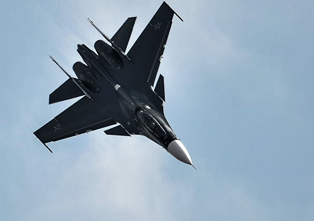 Su-30SM fighter jet. File photo