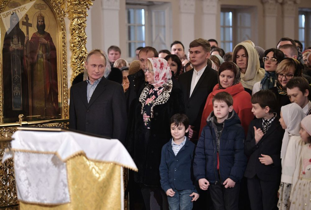 Merry Orthodox Christmas Celebrations in Russia