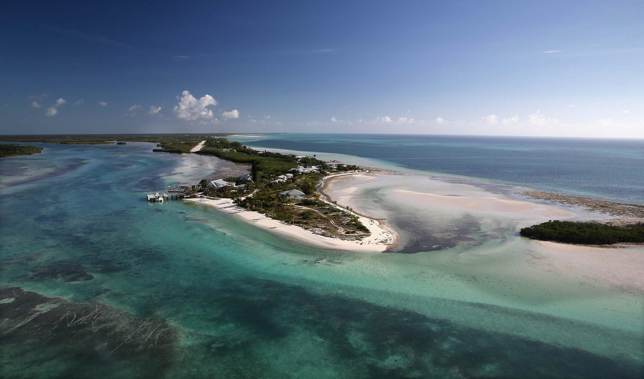 Deep Water Cay island