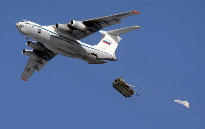 Russian Airborne Forces World's First to Execute Paradrop From Lower Border of Arctic Stratosphere