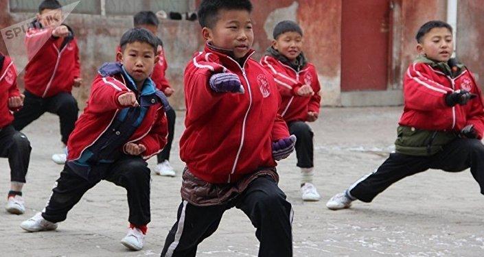 Shaolin Tagou Martial Arts School Students