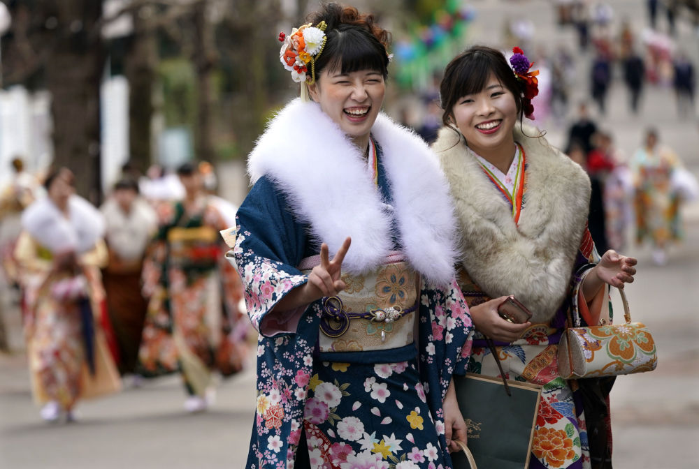 All Grown Up: Japanese 20-Year-Olds Celebrate Coming of Age