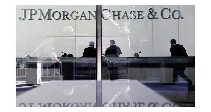 Headquarters of JPMorgan Chase finance company in New York, the USA.