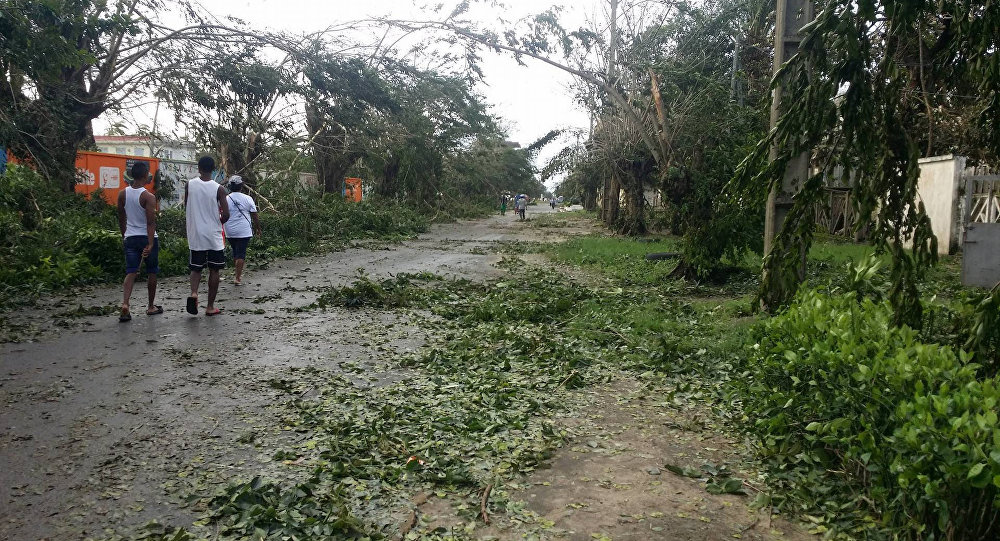 Aftermath of tropical cyclone Ava in Toamasina