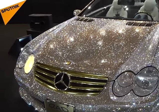 Dazzling Mercedes-Benz