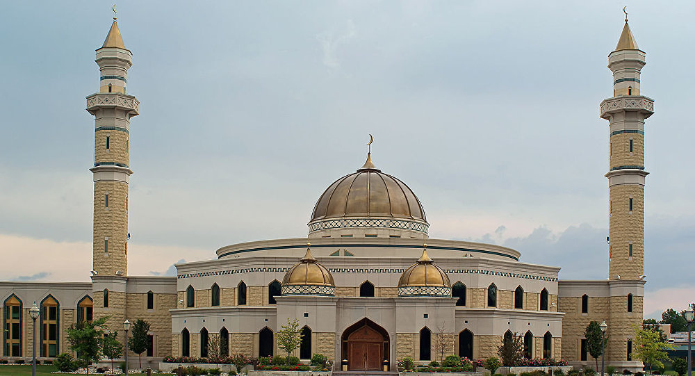 The Islamic Center of America, the largest mosque in the United States, located in Dearborn, Michigan