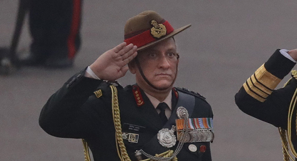 Indian Army Chief General Bipin Rawat