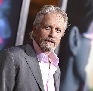 Michael Douglas arrives at the world premiere of Flatliners at The Theatre at Ace Hotel on Wednesday, Sept. 27, 2017, in Los Angeles