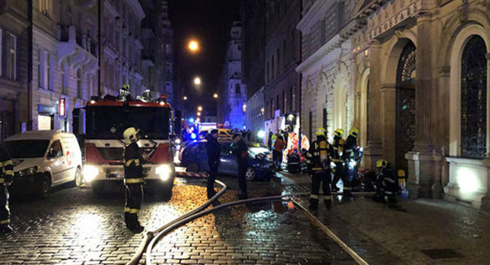 At least 2 dead, dozens injured in Prague hotel fire