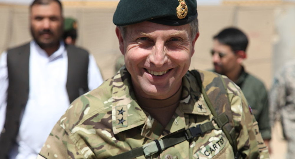 UK Chief of General Staff Gen. Nick Carter (File)