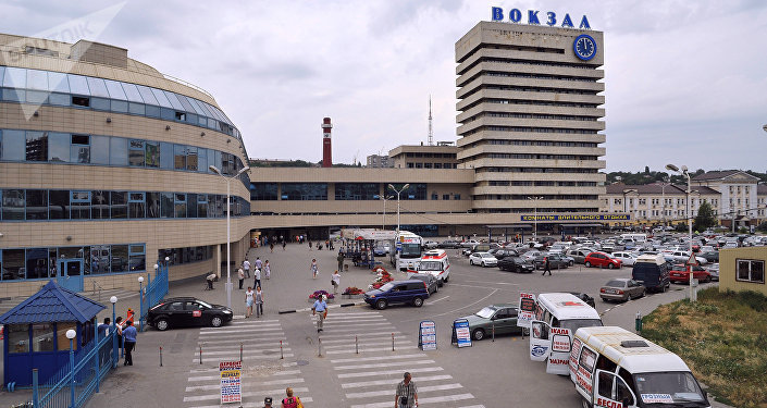 The main railway station in Rostov-on-Don. (File)