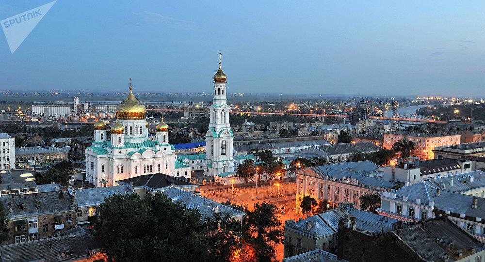 The Rostov Cathedral in Rostov-on-Don. (File)