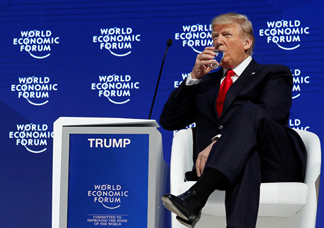U.S. President Donald Trump attends the World Economic Forum (WEF) annual meeting in Davos, Switzerland January 26, 2018