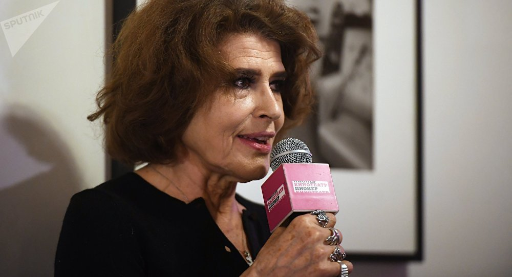 Fanny Ardant presents her film 'Stalin's Couch' in Moscow
