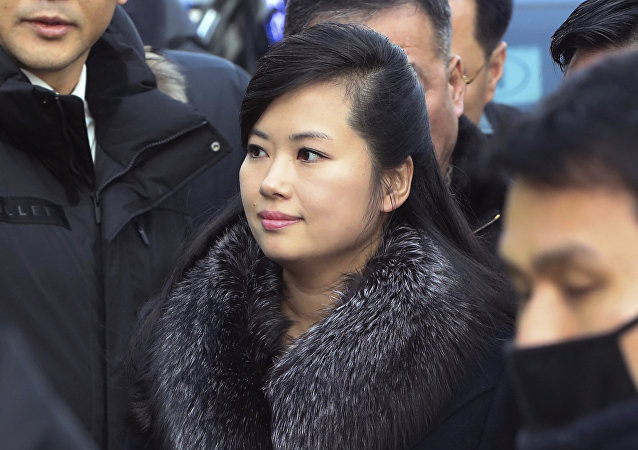 North Korean Hyon Song Wol, head of North Korea's art troupe, arrives at the Seoul Train Station in Seoul, South Korea, Sunday, Jan. 21, 2018.