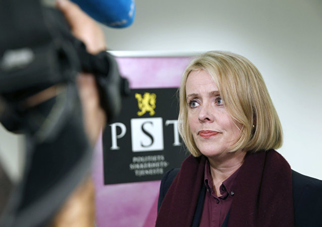 Head of the Norwegian domestic intelligence service PST, Marie Benedicte Bjornland