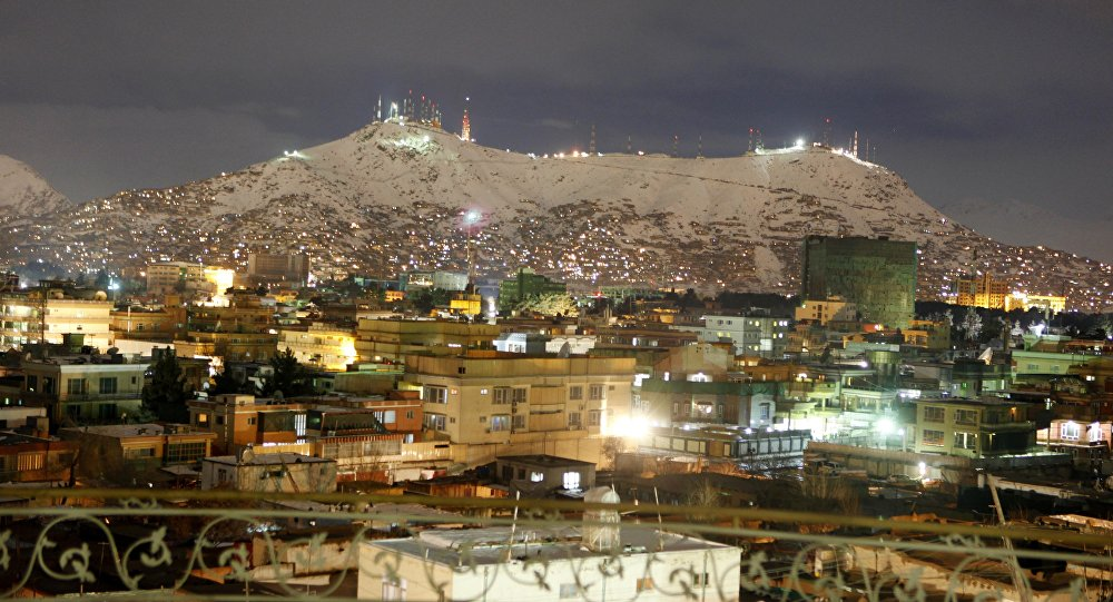 A general view of a neighborhood during the night in Kabul, Afghanistan, Sunday, Feb, 13, 2011