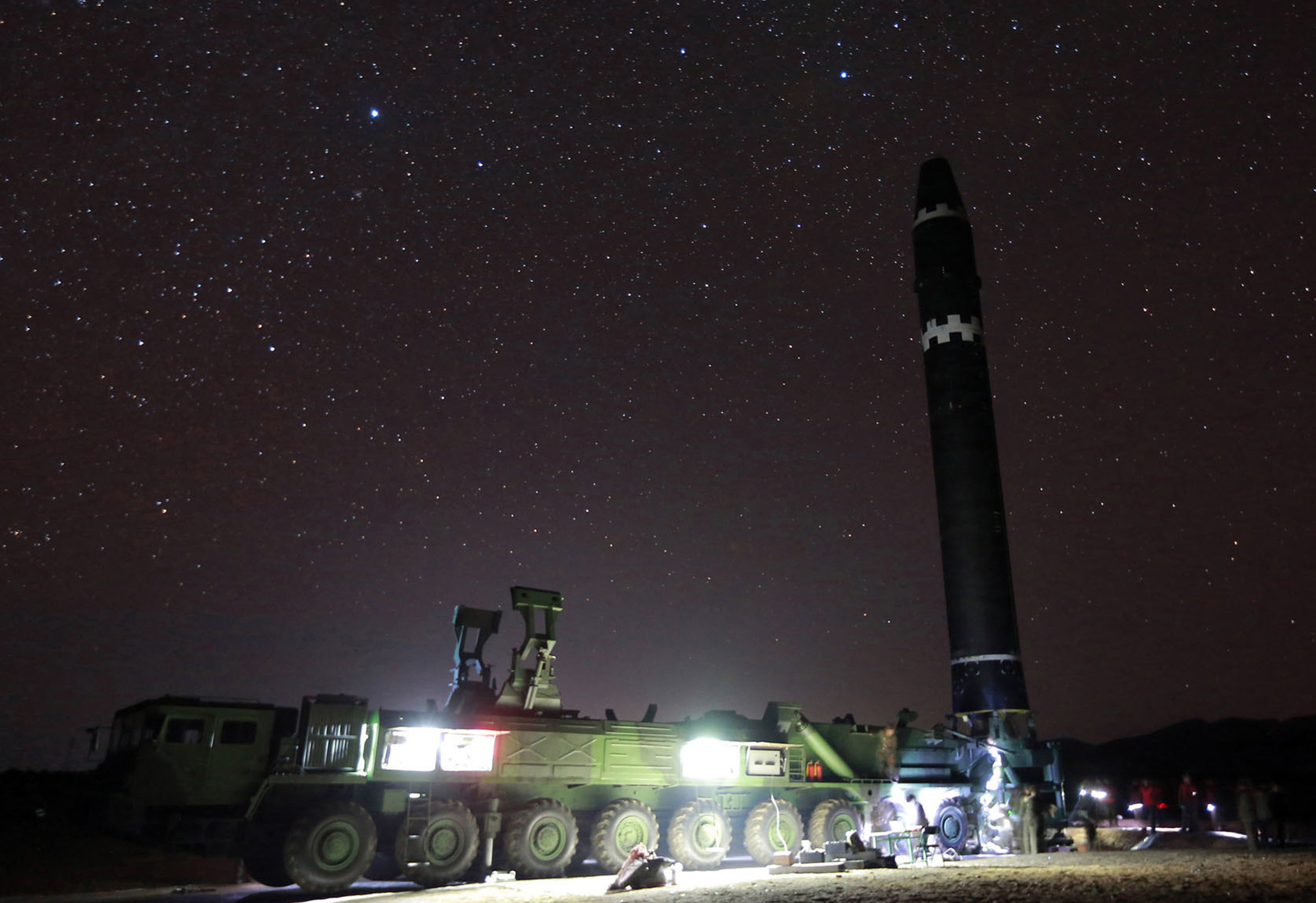 Hwasong-15 intercontinental ballistic missile