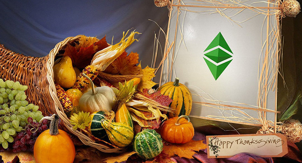 Ethereum Classic Wallpaper - Thanksgiving